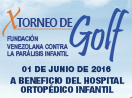 X Torneo de Golf a beneficio del Hospital Ortopédico Infantil - La Lagunita Country Club